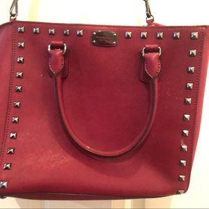 Michael Kors Selma Large leather stud handbag
